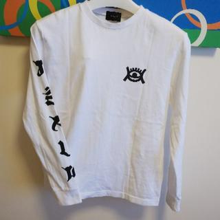 ジーヴィジーヴィ(G.V.G.V.)の白長袖Tシャツ(Tシャツ(長袖/七分))