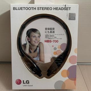 エルジーエレクトロニクス(LG Electronics)のステレオヘッドセット(ヘッドフォン/イヤフォン)