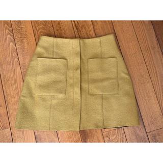 アンティックラグ(antic rag)のantic rag 台形スカート(ミニスカート)