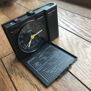 ブラウン(BRAUN)のBraunAB313rsl reflexcontrolブラウン時計【箱有稼働OK(置時計)