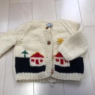 手編みのセーター(ニット)