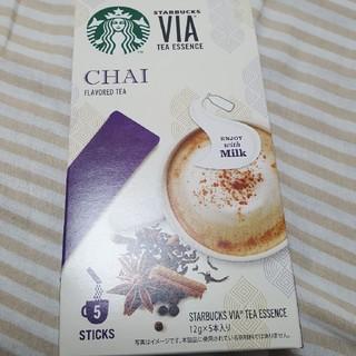 スターバックスコーヒー(Starbucks Coffee)のstarbucks VIA スターバックス ヴィア チャイ(茶)