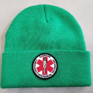 d3406d85347 シュプリーム(Supreme)のsupreme HYSTERIC GLAMOR BEANIE ニット帽(ニット帽 ビーニー