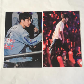 アイコン(iKON)のiKON ポストカード ユニョン 2枚セット(アイドルグッズ)