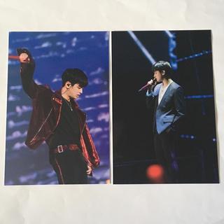 アイコン(iKON)のiKON ポストカード チャヌ 2枚セット(アイドルグッズ)