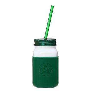 スターバックスコーヒー(Starbucks Coffee)のスターバックス ステンレスジャータンブラー グリーン 473ml (タンブラー)
