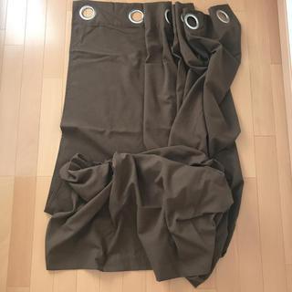 ゆうり様専用 間仕切りカーテン ブラウン ハトメ(カーテン)