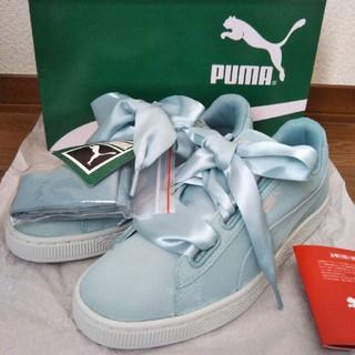 プーマ(PUMA)の新品タグ付き PUMA スウェード ハート ペベル ウィメンズ スニーカー 靴(スニーカー)