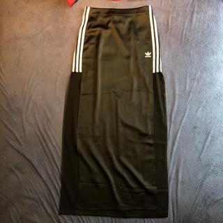 アディダス(adidas)のアディダスオリジナルス adidas Originals スリットロングスカート(ロングスカート)