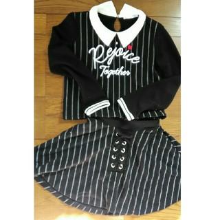 シマムラ(しまむら)の女の子 セットアップ(Tシャツ/カットソー)