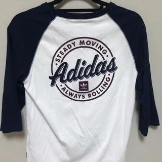 アディダス(adidas)のアディダス カットソー Tシャツ 7部(Tシャツ(長袖/七分))