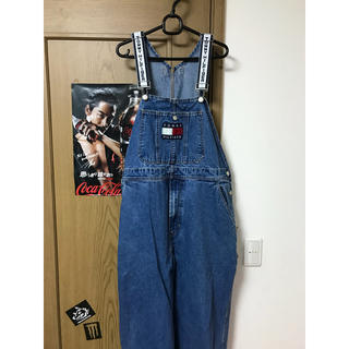 トミーヒルフィガー(TOMMY HILFIGER)のtommy hilfiger オーバーオール tommy jeans(サロペット/オーバーオール)