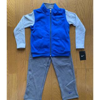 ナイキ(NIKE)の新品未使用 ナイキ子供服 フリースベスト+スウェット+ロンT 3点セット(その他)