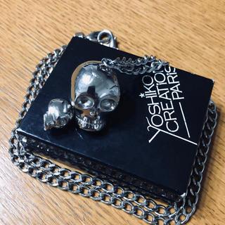 ヨシコクリエーションパリズ(YOSHiKO☆CREATiON PARiS)のyoshiko creation paris  skull(ネックレス)