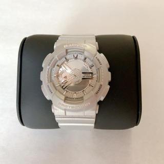 ベビージー(Baby-G)のBABY-G シルバー腕時計(腕時計)