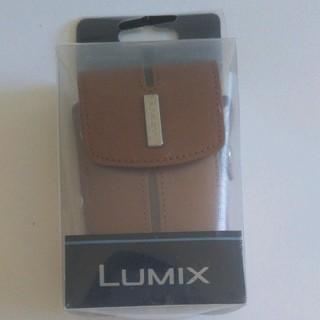 LUMIX DMW-CX100 デジタルカメラ本革ケース ブラウン(ケース/バッグ)