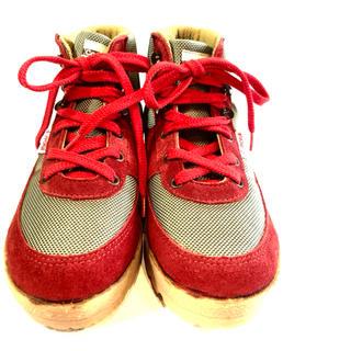 キャラバン(Caravan)のCARAVAN★トレッキングシューズ★2色★本革★キャラバン★赤★カーキ(ブーツ)