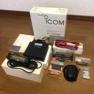 icom IC-2700 DUALBAND FM TRANSCEIVER(アマチュア無線)