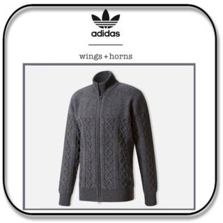 アディダス(adidas)の アディダスxウィング+ホーン ウールトラックセーター (EU)M/ (JP)L(ニット/セーター)