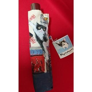 エーエスマンハッタナーズ(A.S.Manhattaner's)のマンハッタナーズ 折り畳み傘  耐風  猫 (傘)