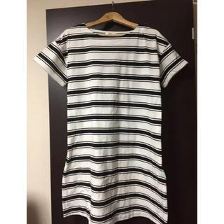 オリーブデオリーブ(OLIVEdesOLIVE)の本日のみ 授乳服 授乳口付き ワンピース Tシャツ Mサイズ(マタニティウェア)