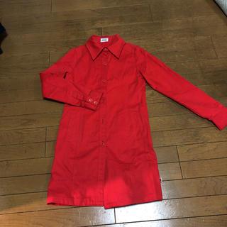 ココボンゴ(COCOBONGO)のココボンゴ赤のスプリングコート(スプリングコート)