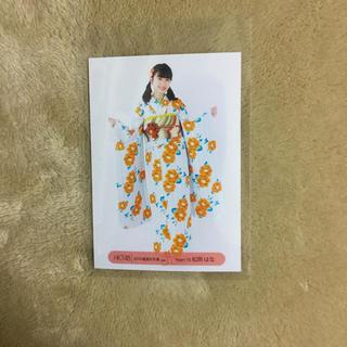 HKT48 チームTII 松岡はな 生写真 2019年福袋
