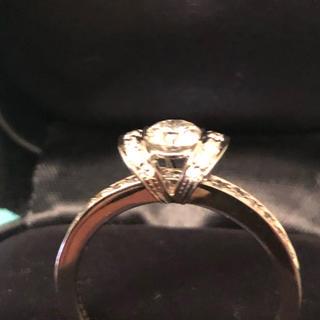 ティファニー(Tiffany & Co.)のティファニー リボンリング値段交渉あり(リング(指輪))