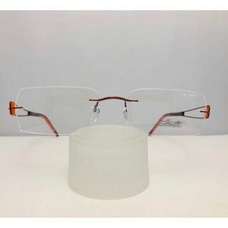 シルエット(Silhouette)の★訳あり★ シルエット オーストリア製 ツーポイント 新品 眼鏡 フレーム(サングラス/メガネ)