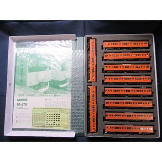 カトー(KATO`)のKATO 10-370/827 201系(中央線色)6両基本セット+4両増結セッ(模型/プラモデル)