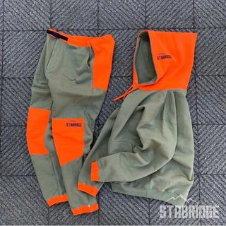 Mサイズ stabridge ultra hoodie タンブルウィードオレンジ(パーカー)