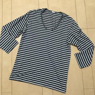 ジーユー(GU)のGU  メンズ トップス S(Tシャツ/カットソー(七分/長袖))
