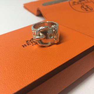 エルメス(Hermes)のエルメス ベルトリング シルバー 925(リング(指輪))
