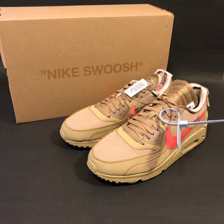 ナイキ(NIKE)のNIKE AIR MAX 90 THE TEN OFF - WHITE 30cm(スニーカー)