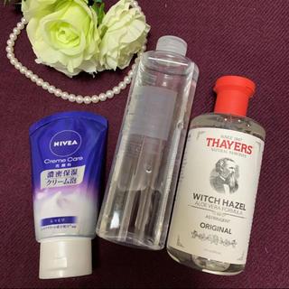 ムジルシリョウヒン(MUJI (無印良品))の無印敏感肌用化粧水入り冬のスキンケアセット(化粧水 / ローション)