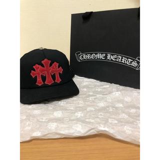 クロムハーツ(Chrome Hearts)の新品!US限定! CHROME HEARTS/3セメタリーキャップ 限定セール中(キャップ)