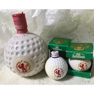セントアンドリュース(St.Andrews)の◆ 古酒 Old St.Andrews ゴルフボールボトル 3本セット◆保管品◆(ウイスキー)