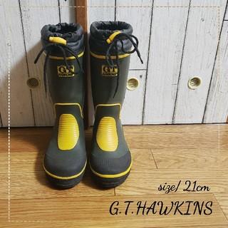 ジーティーホーキンス(G.T. HAWKINS)の《103》キッズ靴(21cm)(長靴/レインシューズ)