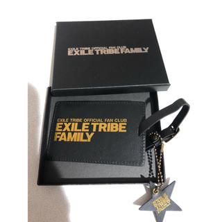エグザイル トライブ(EXILE TRIBE)のEXILE TRIBE FAMILY パスケース(名刺入れ/定期入れ)