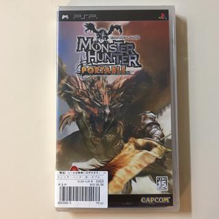 プレイステーションポータブル(PlayStation Portable)のPSP  モンスターハンターポータブル(家庭用ゲームソフト)