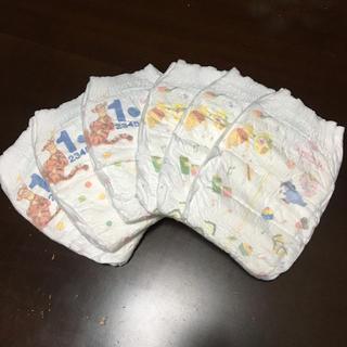 アイアイメディカル(AIAI Medical)のMoony 赤ちゃんオムツ Mサイズ お試し テープタイプ(ベビー紙おむつ)