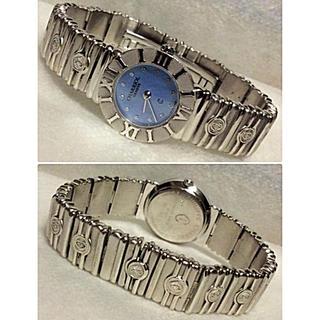 シャリオール(CHARRIOL)の美品‼️シャリオールサントロペ 12P SV925 ブルーシェルレディース腕時計(腕時計)
