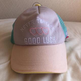 46d5d98aa03024 ピンクラテ サイズ 子供 帽子の通販 27点 | PINK-latteのキッズ/ベビー ...