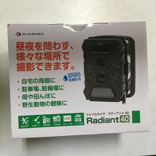 【新品】ダイトク トレイルカメラ ラディアント40 【品番】TL-5115DTK(防犯カメラ)