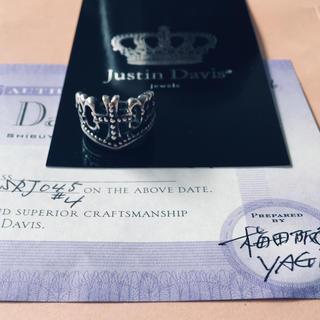 ジャスティンデイビス(Justin Davis)のジャスティンデイビス ピンキーリング(リング(指輪))