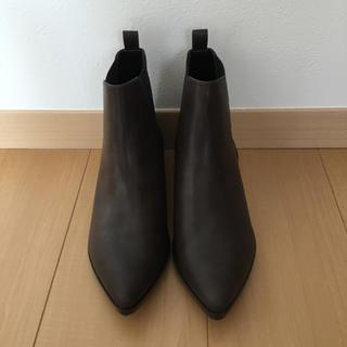 ジーユー(GU)の新品GU サイドゴアショートブーツ(ブーツ)
