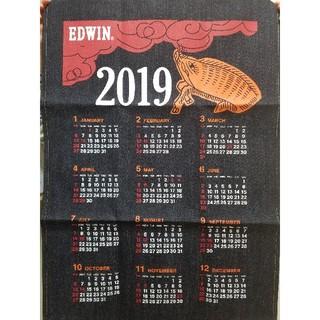 エドウィン(EDWIN)の美品!EDWIN(非売品)2019年デニムカレンダー(カレンダー/スケジュール)