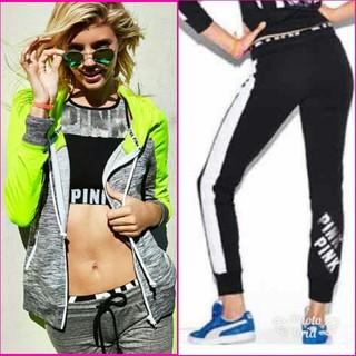 ヴィクトリアズシークレット(Victoria's Secret)のPINK☆フルジップフーディー&パンツ セットアップ(パーカー)