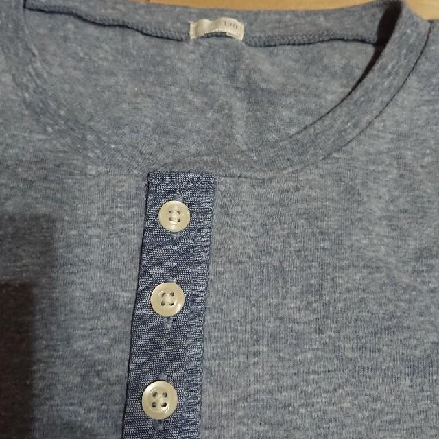 GU(ジーユー)の美品☆GUキッズカットソー☆130㎝ キッズ/ベビー/マタニティのキッズ服 女の子用(90cm~)(Tシャツ/カットソー)の商品写真