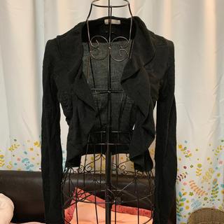 アーモワールカプリス(armoire caprice)のブラック カーディガン(カーディガン)